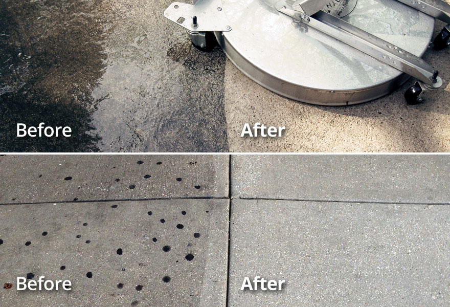 Commercial Concrete Cleaning TN VA Tri-Cities