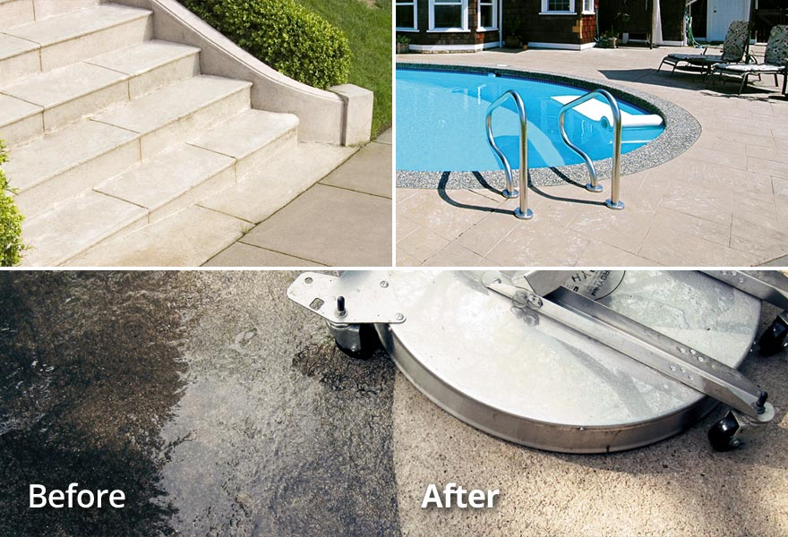 Property Management/HOA Concrete Cleaning TN VA Tri-Cities