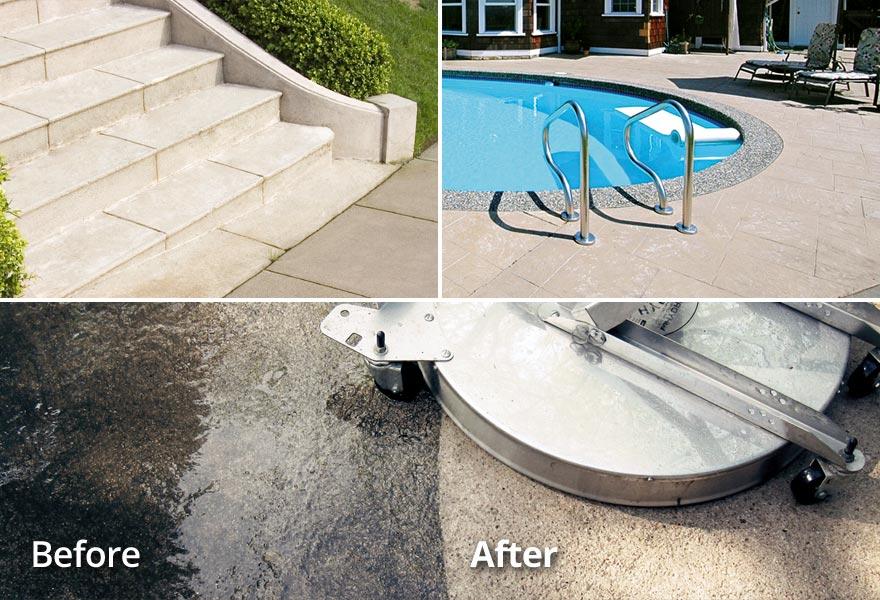 Property Management/HOA Concrete Cleaning TN VA Tri-Cities