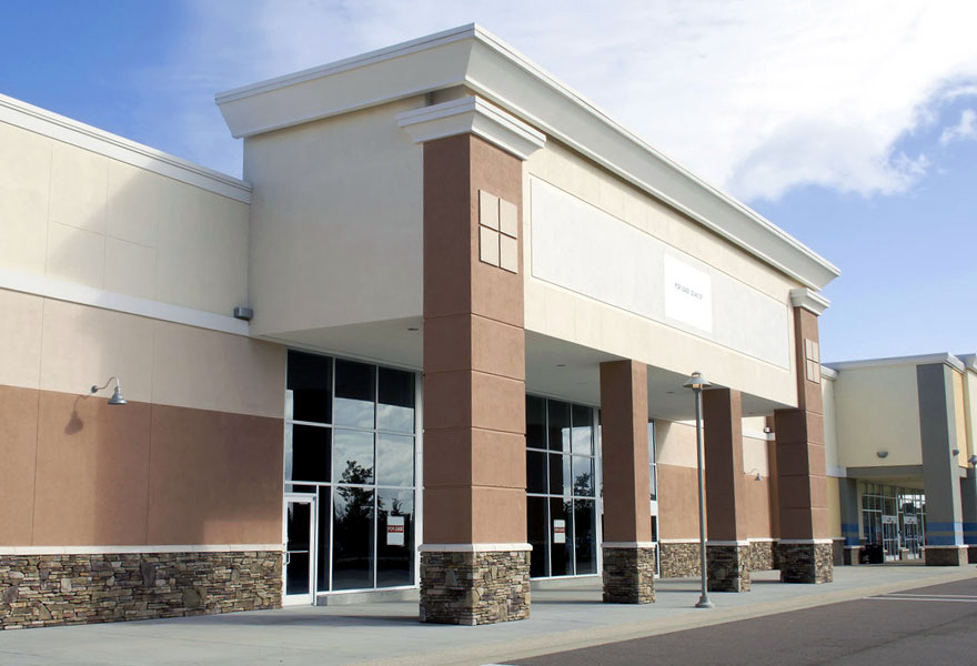 Shopping Center Pressure Washing TN VA Tri-Cities