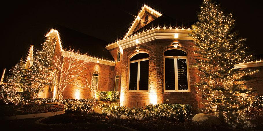 Holiday and Event Custom Lighting Installation Tennessee / Virginia Tri-Cities
