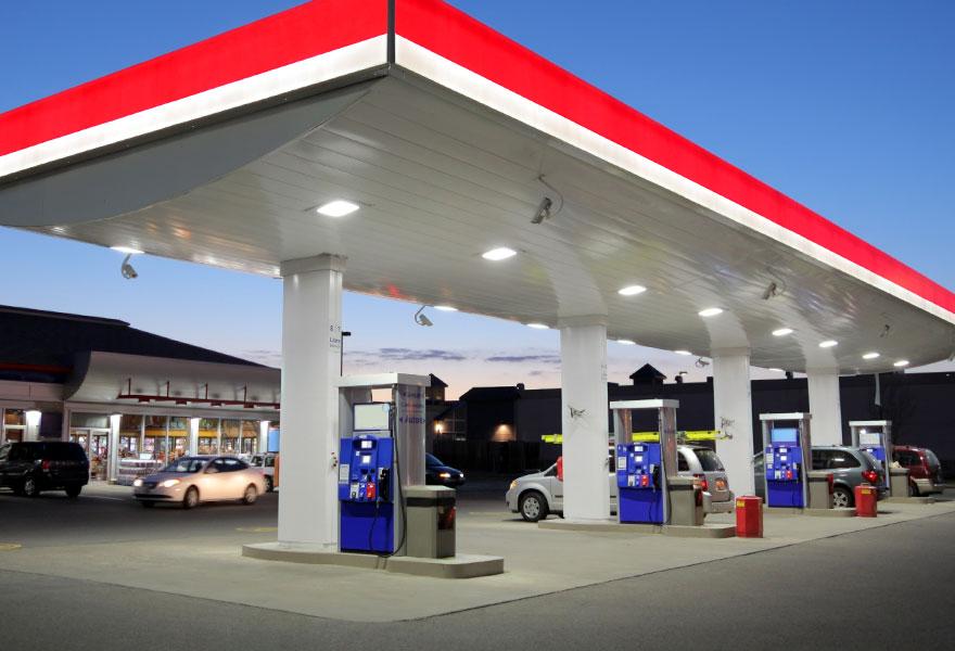 Gas Station Pressure Washing TN VA Tri-Cities