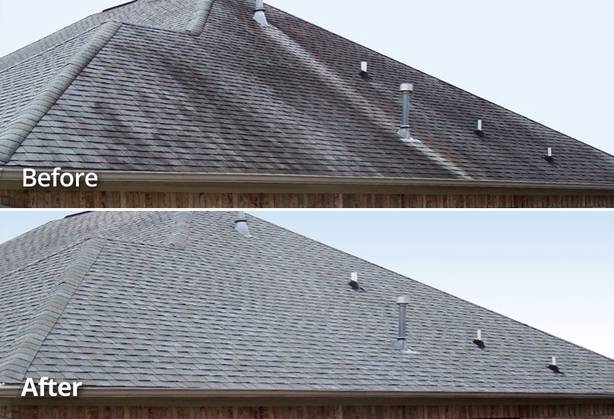 Non-Pressure Roof Cleaning TN VA Tri-Cities