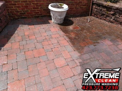 Brick Patio Cleaning  Tennessee /                      Virginia Tri-Cities