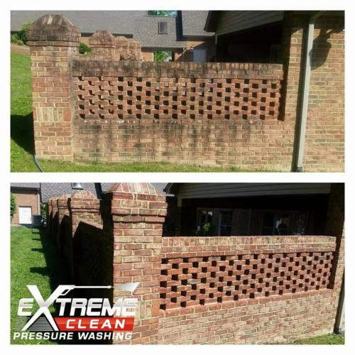 Brick Wall CleaningTennessee /                      Virginia Tri-Cities