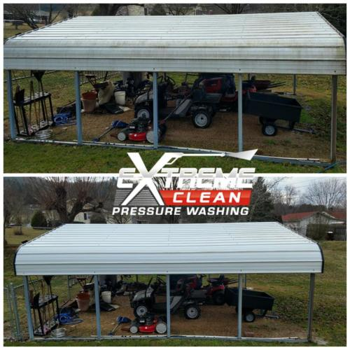 Carport Cleaning     Tennessee /                      Virginia Tri-Cities