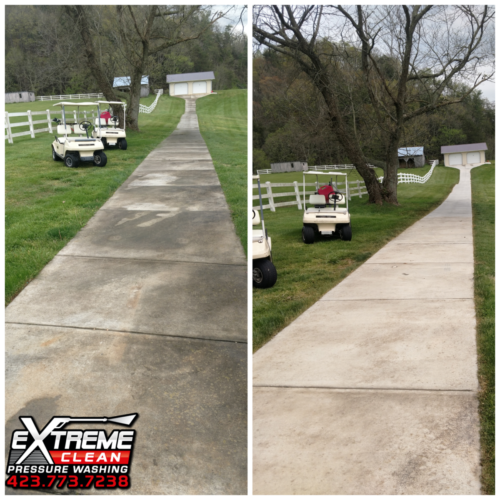 Drive Way Cleaning Tennessee /                      Virginia Tri-Cities