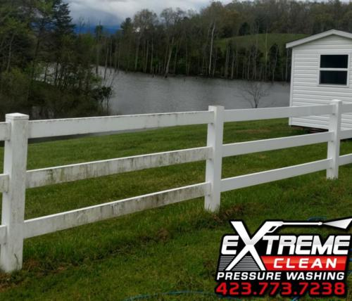 Fence CleaningTennessee /                      Virginia Tri-Cities